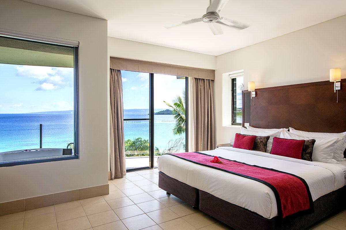 Deluxe Ocean View Accommodation Vanuatu Island Holiday Resort