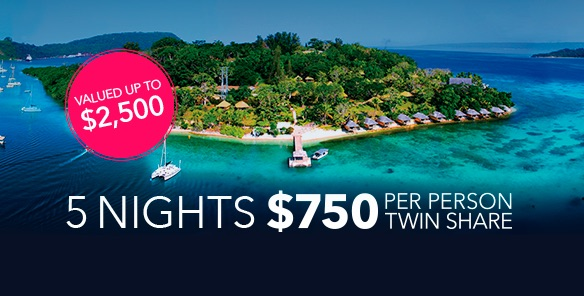 Holiday-specials - Luxury Island Escape at Mate's Rates