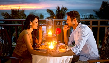 Extras - Romantic Candlelit Balcony or Beach Dinner